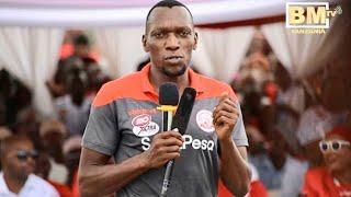 Kagere alivyoshindwa Kuongea Kiswahili, Atoa Kauli hii Msimbazi