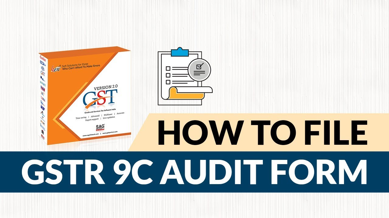 GSTR 9C Filing in Hindi | How to File GSTR 9C Audit Form by Gen GST Software