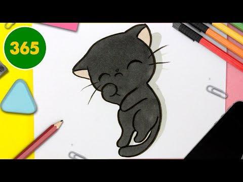Comment Dessiner Un Chat Kawaii Apprendre à Dessiner