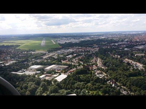 Sylt EDWX to Bremen EDDW in a Robin DR400