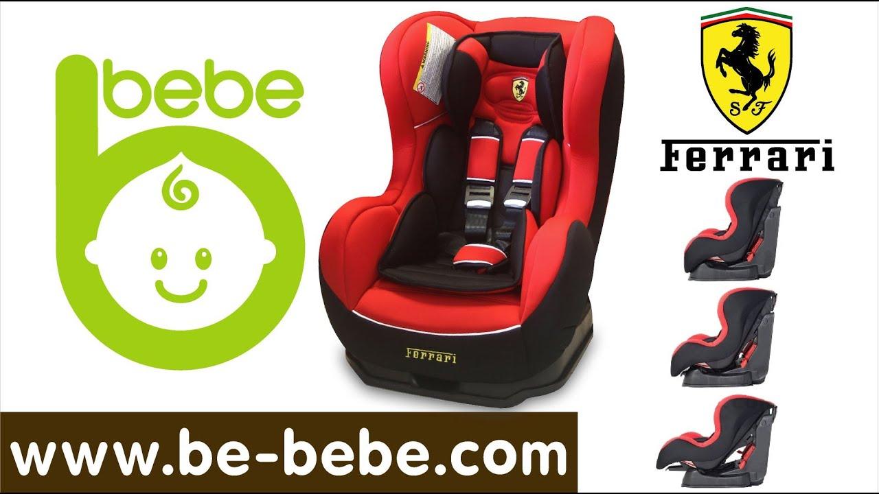 nania car seat instructions youtube