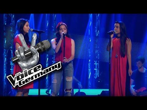 Let It Go - James Bay | Mimoza, Vjollca & Shkurte Mustafa | The Voice of Germany 2016 | Audition