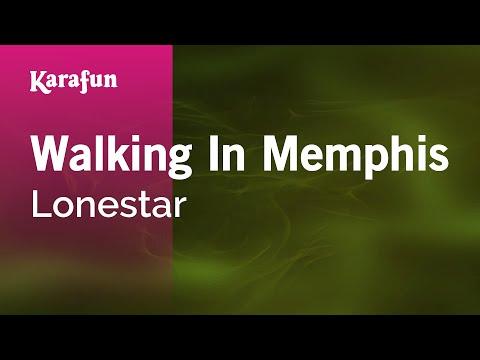 Karaoke Walking In Memphis - Lonestar *
