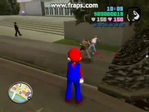 Grand Theft Auto: Vice City Super Mario Mod 2 by:jessrocked