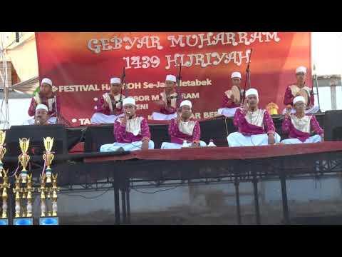 Keren banget, Turbatus Syifa Juara 1 Festival Hadroh se-jabodetabek Kayu Besar