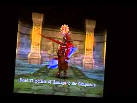 Dragon Quest IX Grotto Boss #7 Sir Sanguis