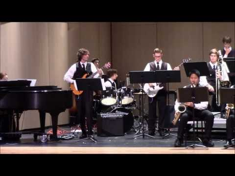 Coram Deo Academy Jazz Band playing Crunch Frog by Gordon Goodwin