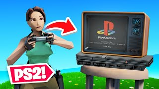 *NEW* PS2 LARA CROFT in FORTNITE!