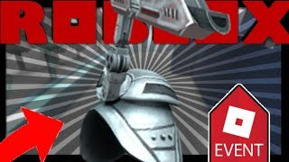 How to get Space Shoulder Cannon no Field of Battle ROBLOX [ENCLOSED EVENT]