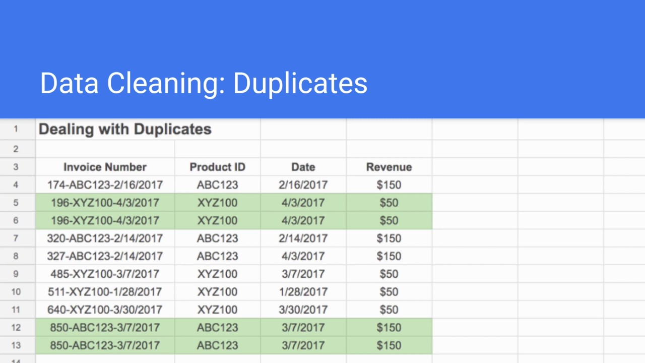 How to Remove Duplicates in Google Sheets in Five Different Ways