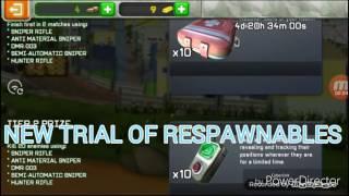 Respawnables New trial of respawnables HEAVY MACHINE GUN SKIN!!!