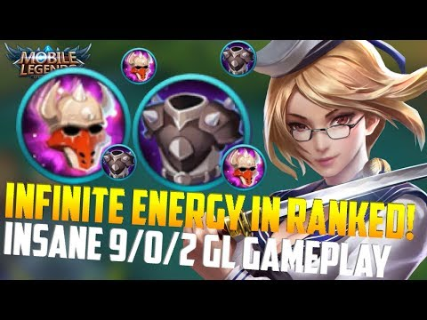 FANNY INFINITE CABLE RANKED GAMEPLAY(MUST WATCH)! MOBILE LEGENDS FANNY GL RANKED GAMEPLAY