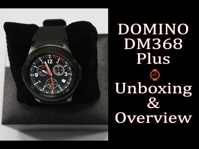 DOMINO DM368 Plus Android SmartWatch Unboxing & Overview ?????