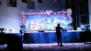 Pujana Pradhan dancing in Udhreko Choli in Qatar
