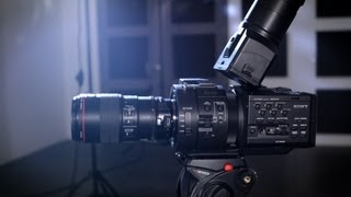 Компанія Sony FS700 Некс & до FS100 - установка та огляд - MagnanimousRentals.com