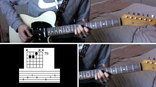 Lead Guitar Tutorial - Blue Sky Challenge
