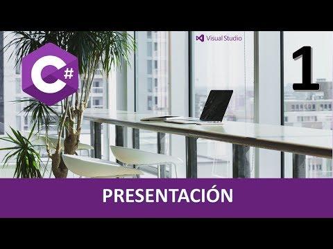 Curso C#. Presentación. Vídeo 1