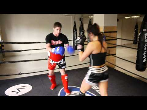 Kalamare vs Kevin at Jai Thai Boxing Gym
