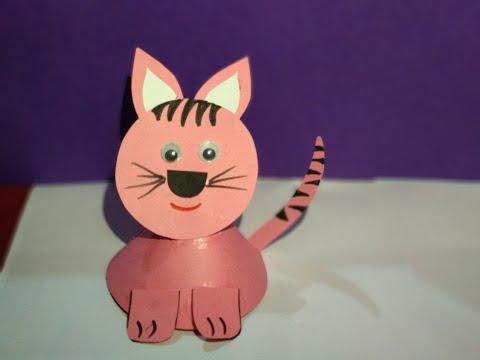 DIY- Paper Cat || Innovative artsncrafts
