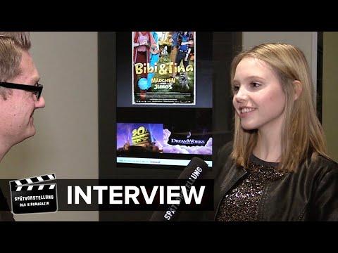 """Interview mit Lina Larissa Strahl zum Film """"Bibi & Tina - Mädchen gegen Jungs"""""""