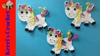 Crochet Unicorn Tutorial (Part 2)