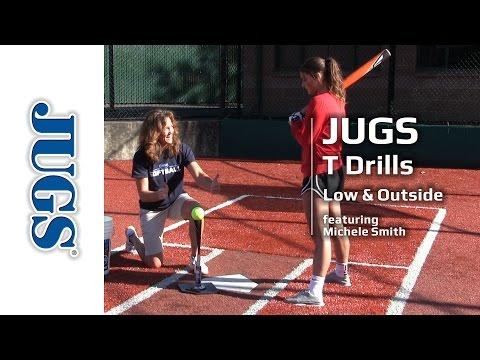 Softball T Drills: Low & Outside    JUGS Sports