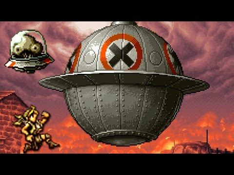 Metal Slug X - All Bosses (No Death)