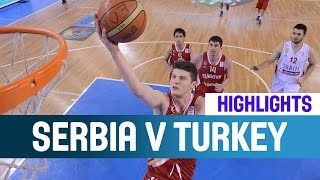 Serbia v Turkey- Highlights - Semi-Finals -2014 U20 European Championship