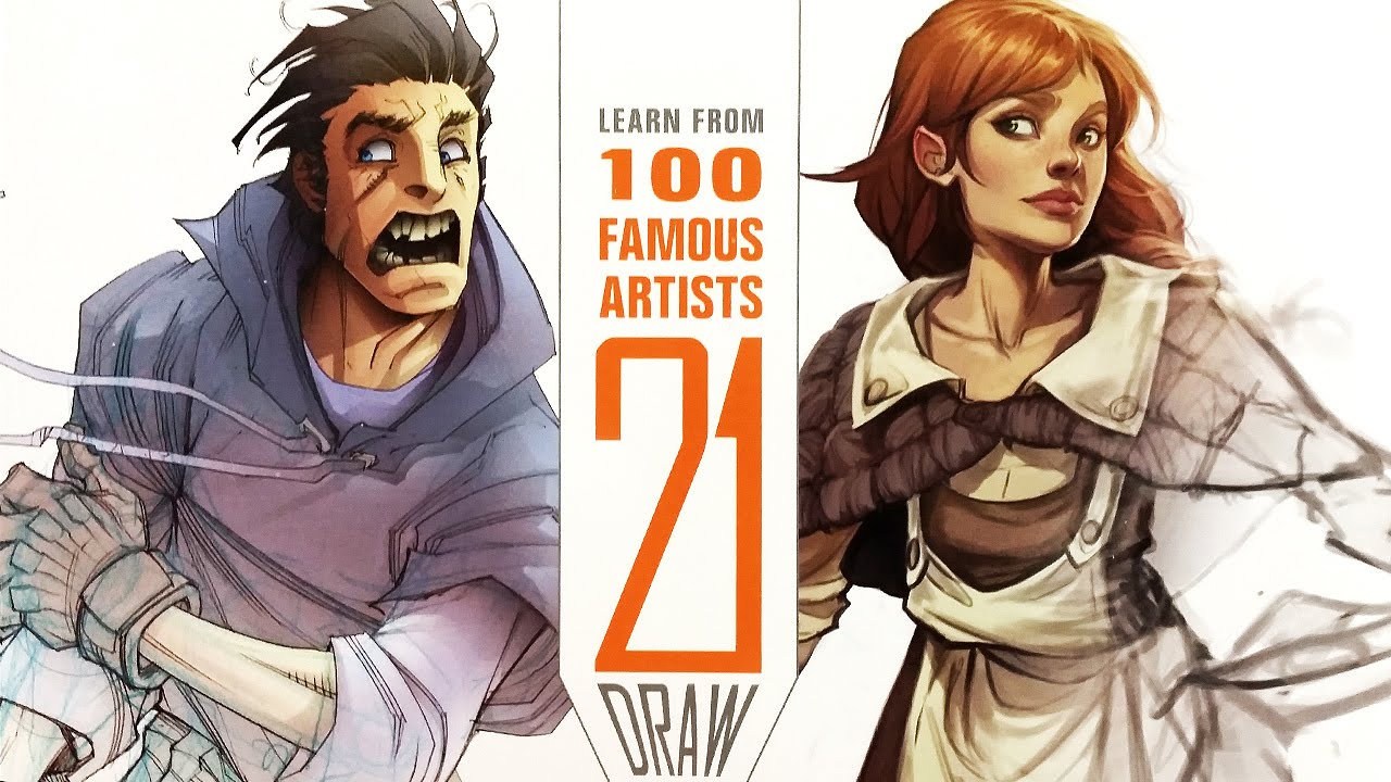 Character Design Book Jazza : Book review draw learn from famous artists