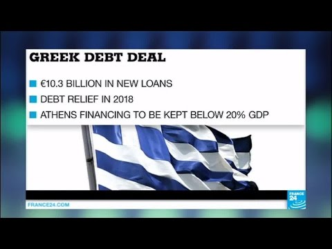Greece debt relief: Eurozone reaches deal on 10.3 billion euro bailout plan