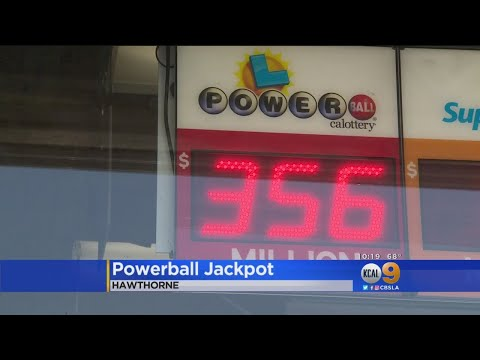 Numbers Drawn For $371 Million Powerball Jackpot