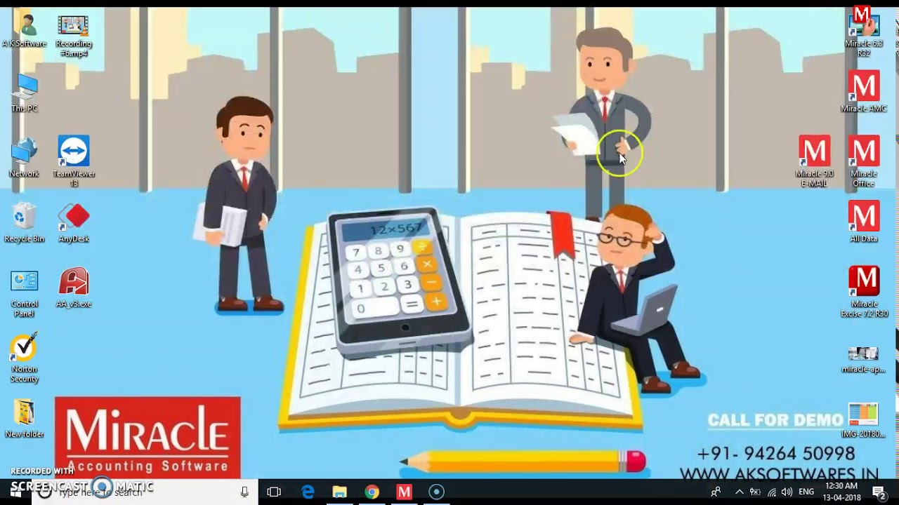 Miracle gst Billing & Invoicing Software in ahmedabad, GST Ready