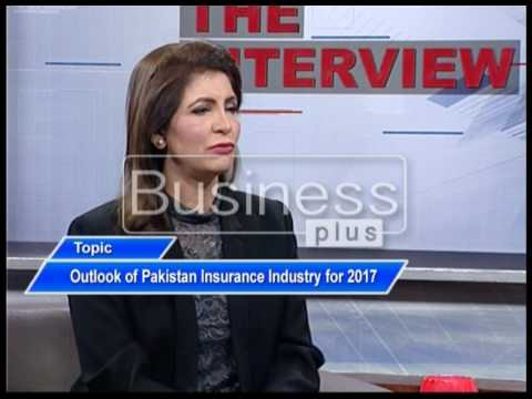 LIVE WIRE | The Interview | Mahnoor Ali | Outlook of Pak Insurance Industry |17 April 2017 |