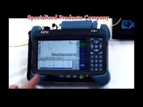 Comparison of EXFO OTDR Trace vs. iOLM; Demo on FTB-1