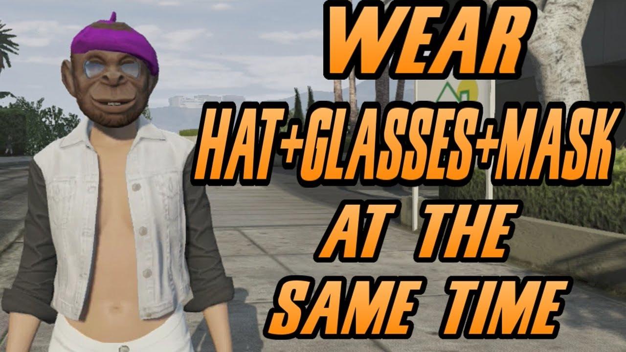 04d6571609a GTA 5 Online - NEW Mask and Goggles Glitch! Masks   Glasses! GTA 5 Glitches!