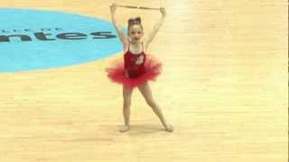 twirling baton  N3 2012 solo poussine Shirley L Médaille d'argent