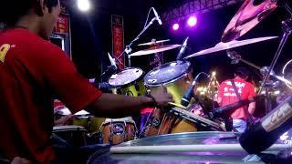 Full kendang Cak Nophi - Instrumen sedingin salju - cek sound Om Adella Live Semarang 2018