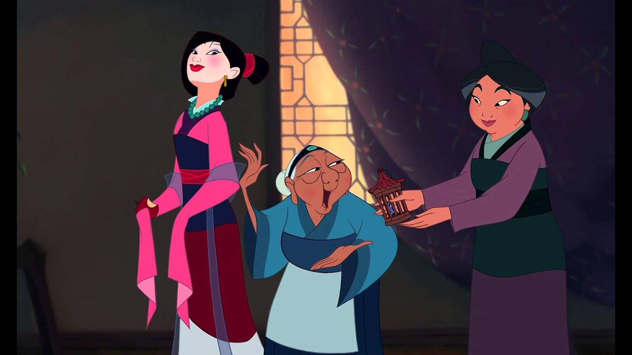 Mulan preparandosi per l incontro clip dal film hd
