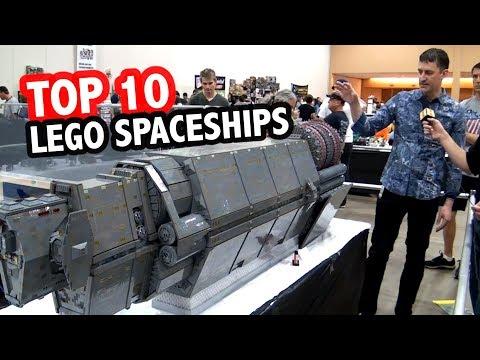 Top 10 Epic LEGO Spaceships!