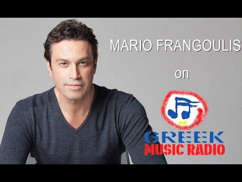 Mario Frangoulis Interview on Greek Music Radio