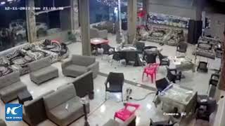Iraq earthquake: Bar patrons flee as quake strikes Sulaymaniyah