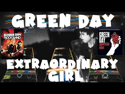 Green Day - Extraordinary Girl - Green Day Rock Band Expert Full Band