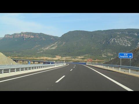 Spain: A-21 Sigüés (Pyrenees)