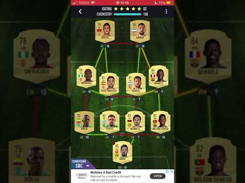 Real Madrid Goals Sbc