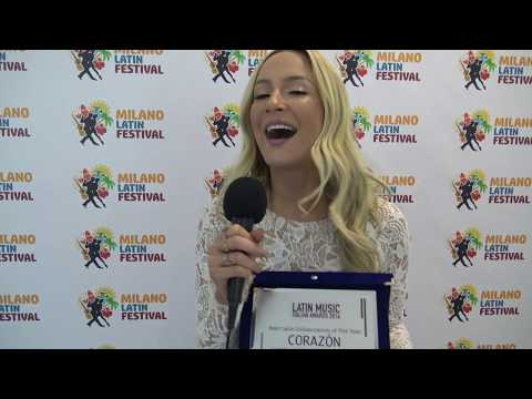 CLAUDIA LEITTE x Latin Music Italian Awards 2016