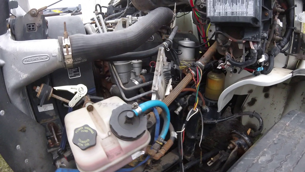 Engine Mercedes OM906, 260 hp, Stock# 1A1E47656 Lussier