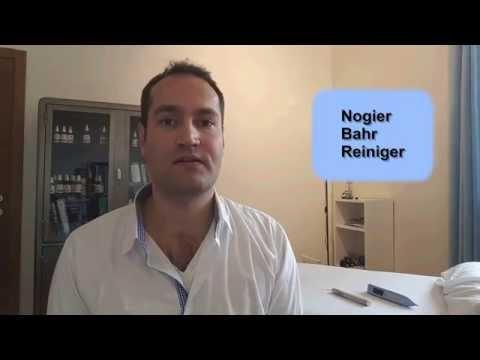 Laser Acupuncture Frequencies, Nogier, Prof. Bahr, Reiniger