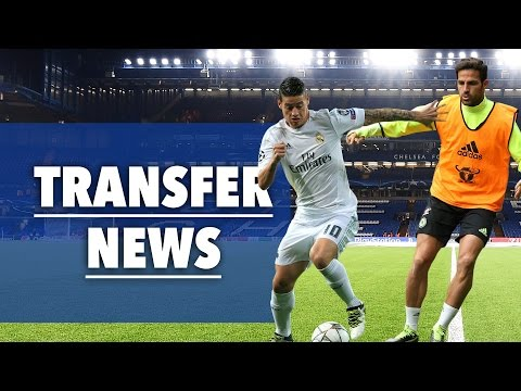 James Rodriguez To Chelsea? | Cesc Fabregas to Real Madrid?