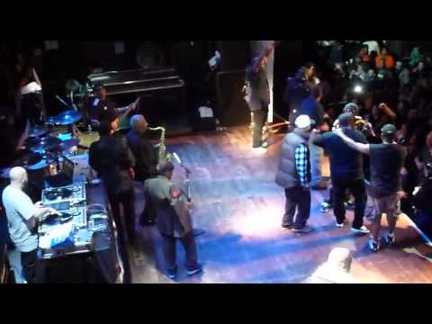 """Public Enemy """"Fight the Power"""" Chicago House of Blues 12.05.12"""
