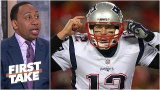 Tom Brady 'ain't going no damn place' – Stephen A.   First Take